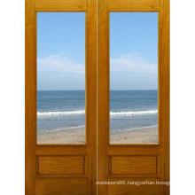 Hot Sales Solid Interior Wood Door with Glass