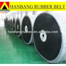Fabricante industrial de banda transportadora de goma resistente al calor