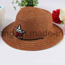 Chapeau de paille personnalisé, casquette de baseball de sports d'été