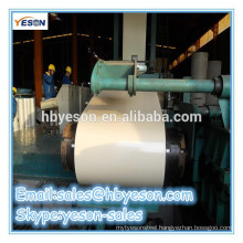 Pre-painted galvanized steel coil with high corrosion resistance