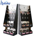 Exposição de suspensão do cartão de empacotamento dobrável fácil com ganchos, OEM / ODM Projete a exposição de suspensão dos ganchos