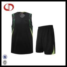 Custom New Pattern Printing Basketball Unifroms für Mädchen