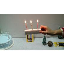 0.5*6cm spiral birthday candle 10kg per carton for Turkey market