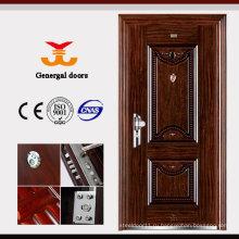 ISO9001 и ржавчины упорная гальванизированная стальная дверь