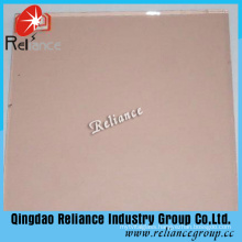 8mm Pink Tinted Float Glass for Building with Ce/ISO