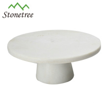 Round marble fruit tray