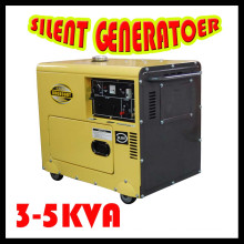 Silent Diesel Generator Set (KDE6700T)