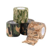 Bande de bandage athlétique sport camouflage 5 cm x 4,5 m