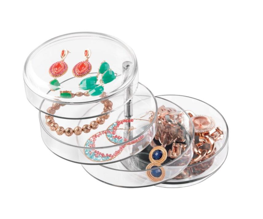Jewelry Organizer with Swivel Trays