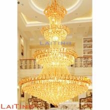 1200*1800mm Luxury big crystal ceiling chandelier for decorating Hotel Lobby, Showroom, Villa
