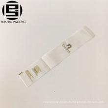 Bolsas de embalaje de pasta de dientes de cepillo de dientes EVA para hotel con adhesivo