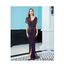 Fashion Sexy Women Lady Elegant Off Shoulder Cocktail Long Party Sequin prom dresses evening