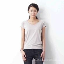 OEM Bulk Großhandel Damen Bambus T-Shirts