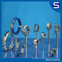 ASME/ANSI B16.9 stainless steel tube mounting brackets fitting
