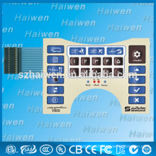 newest product custom new membrane switch with LED lamps