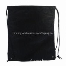 Black Mini Polyester Shopping Bags, Customized Orders are Accepted