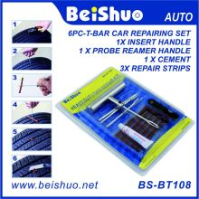 7PCS Car Van Tyre Emergency Puncture Repair Kit with 3 Strips