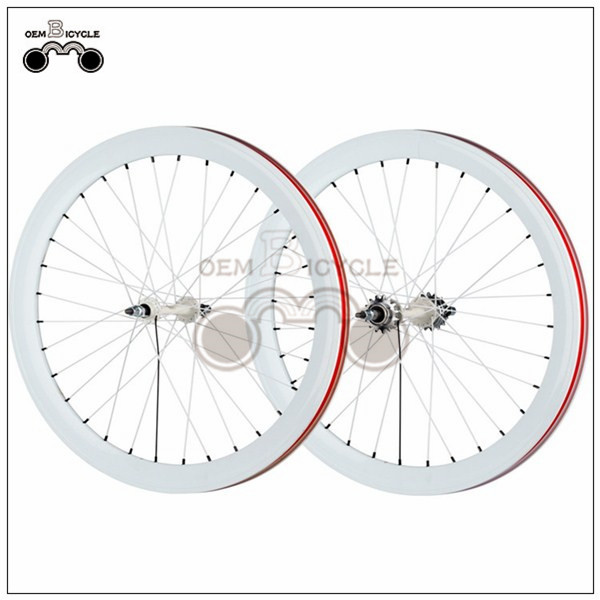 700C 40mm fix double-walled aluminum wheelset13