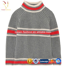 Camisola de bebê de cashmere, lã camisola de malha para menino, roupas de inverno menino