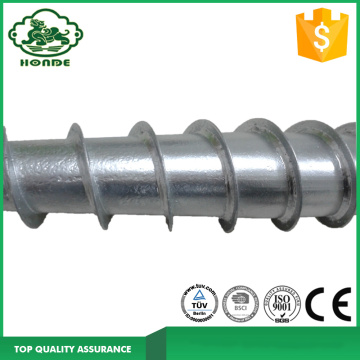 Biaya rendah Profesional Earth Ground Screw Anchor
