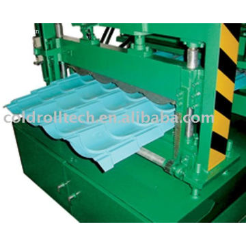 Steel Structure Roof Tile Forming Machine