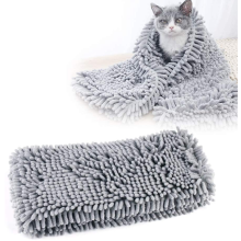 Pet drying bath towel