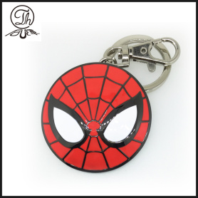 Anelli portachiavi in ​​metallo Spider Man Shield