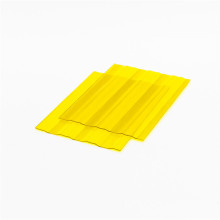 Clear Polycarbonate Roof Color Corrugated Plastic Sheet