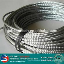 2014 Cable de acero inoxidable caliente de la venta (fabricación)