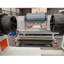 Machine de recul de bobine métallique