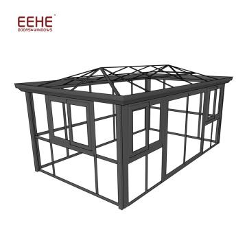 Aluminium Frame Glass House / Veranda Sunroom / Glass Garden Room