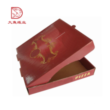 Top quality customized logo decorative reusable food pizza paper box picture