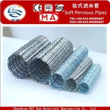 .Flexible Steel Wire Permeable Hose