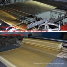 Tissu métallique en laiton