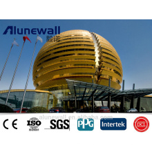 Niederlande importierte Aluminiumspule Spiegel-Aluminium-Verbundplatte