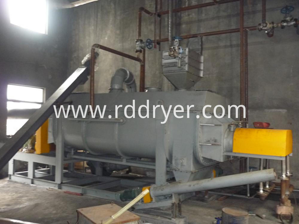 Phosphogypsum Hollow Paddle Dryer