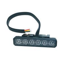 18W 6 Watt LED-Notröhrenlampe mit Warnleuchte für Oberflächenmontage