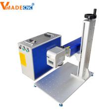 Máquina de grabado de metal con marcado láser de color 30w
