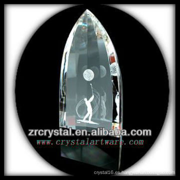K9 Laser 3D imagen interior cristal