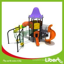 Matériel en plein air en plastique et matériel de terrain de jeu en plein air Équipement de terrain de jeux extérieur