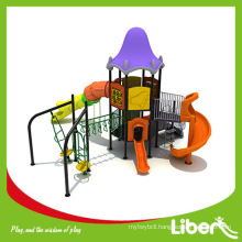 Plastic Long Tube Playground Material and Outdoor Playground Type outdoor playground equipment