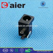 Prise 2.5 / 2.1 * 5.5mm 12V CC de connecteur, prise d'alimentation CC imperméable, prise de courant continu