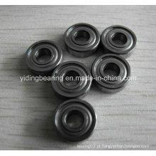 Rolamento de aço inoxidável do tamanho da polegada 1/4 X 3/4 X 9/32 Sr4a Zz