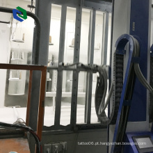 Cabine de pulverizador automática eletrostática alta eficiente do pó