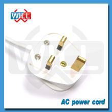 Venta al por mayor de la fábrica 250V cable de alimentación de CA para samsung tv