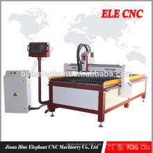 Tipo penhora do pórtico de Jinan / máquina de corte do CNC do plasma para de aço inoxidável
