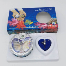 Love Pearl Kit Collier en forme de pendentif Dolphin Holder