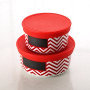Set of 2 hot box for food storage