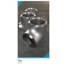Трубные фитинги Ss321 Ss304 Ss316 Тройник из нержавеющей стали