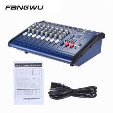 Best Price 8 Channel 802D USB Karaoke Amplifier Pmx Power Mixer